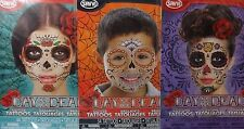 SAVVI Day of the DEAD Face Tattoos