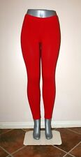 RED PANT LEGGINGS STRETCH WORKOUT DANCE CELEBRITY S, M, L, XL, 2X, 3X