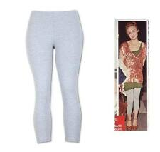 LIGHT GRAY HEATHER PANT LEGGINGS STRETCH WORKOUT S, M, L, XL, 2X, 3X PLUS