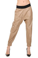 NEIL BARRETT Women Leather Trousers Made in Italy New with Tags and Original
