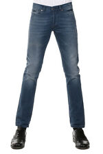 GILDED AGE Men Blue Slim Fit Denim Jeans Made in Italy New with Tag