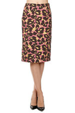 PRADA CLOQUET ASTRATTO Woman Pencil Skirt Made in Italy