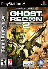 PS II PlayStation 2 Tom Clancy's Ghost Recon 2 Lot M16-32