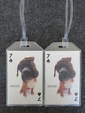 PUPPY DOG LUGGAGE TAGS 2-PACK SET - 52 BREEDS AVAILABLE - CHOOSE YOURS!