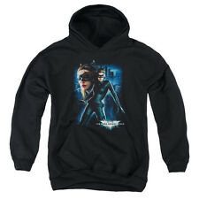 The Dark Knight Rises Catwoman Big Boys Pullover Hoodie