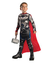Child Boys Marvel Thor Avengers 2 Costume With Cape