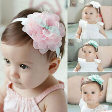 Headwear Flower Kids Baby Girl Toddler Lace Hair Band Headband Accessories CHI