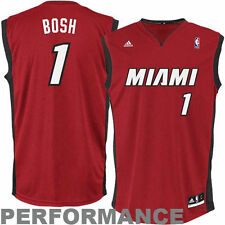 adidas Chris Bosh Miami Heat Red Replica Alternate Jersey
