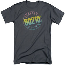 Beverly Hills 90210 Color Blend Logo Mens Big and Tall Shirt