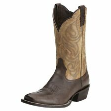 Ariat Men's Good Times Cowboy Western Boots Seal Brown/Roble 10014048