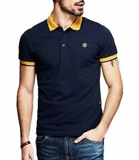 M L XL  XXL Casual Mens Cotton Short Sleeve Polo Shirt Lapel T-shirt KPT-1848