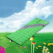 Foldable Sleeping Bag Duck Down Blanket Filling Quilt Camping Carrying Case Sack
