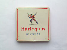 Harlequin Cigar Tin F.R. Freeman & Son Collectible Tin with original paper liner
