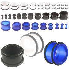 ear tunnel kit ear stretcher gauge piercing jewellery 9ILQ-VARIOUS SIZE&COLOUR