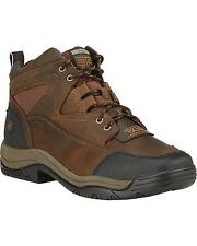 MEN'S ARIAT TERRAIN SQUARE TOE WORK BOOTS LACE UP 10016379