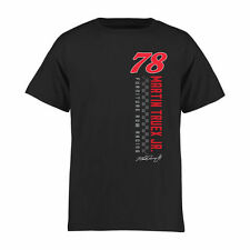 Martin Truex Jr Youth Black Finish Line T-Shirt
