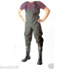 LINEAEFFE HEAVY DUTY POLYESTER COARSE FLY FISHING CHEST WADERS ALL SIZES