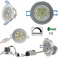 LED Ceiling Light Dimmable Recessed Downlight Bulb Light 6W 10W 18W 24W 36W Lamp