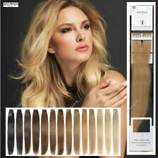 Fill In Prebonded 100% Human Hair Extension 45cm straight ALL COLOURS By BALMAIN