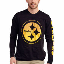 Junk Food Pittsburgh Steelers Black Pre-Game Long Sleeve T-Shirt