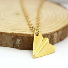 New One Direction 1D Harry styles Paper Airplane Silver pendant Fashion Necklace