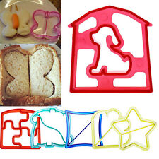 Lunch Kid Sandwich Toast Cookies Bread Cake Biscuit Food Cutter Mold Mould DIY
