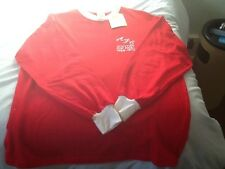 ABERDEEN FOOTBALL SHIRT, RETRO 1969 - 70 CUP FINAL , NEW WITH TAGS, SCARCE.