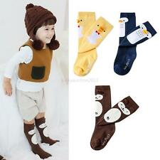 Cute Toddlers Kids Girls Over Knee High Socks Tights Leg Cotton Warmer Stockings