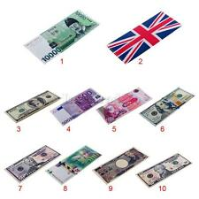 Women's Paper Money Leather Bifold Wallet ID Credit Card Holder Coin Purse Bag