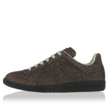 MARTIN MARGIELA MM22 Men Brown Rubber Points Stud  Shoes Sneakers NWT