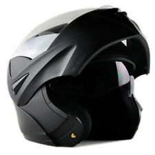 DOT Dual Visor Flip Up Motorcycle Helmet Motocross Full Face Street Bike