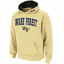 Stadium Athletic Wake Forest Demon Deacons Gold Arch & Logo Pullover Hoodie
