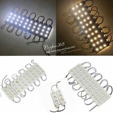 LED Module Light 3 SMD 5050 Injection Cool/Wam White Waterproof Strip Light Sale