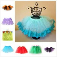 Cute Baby Kids Girls Colors Ballet Tutu Princess Skirts Tulle Dance Party Dress