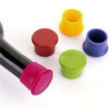 Silicone Wine Beer Cover Bottle Cap Beverage Stopper Cork Kitchen Bar Party Tool