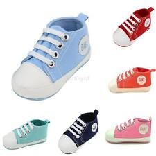 Lovely Newborn Kids Infant Toddler Baby Boy Girl Soft Soled Crib Shoes Sneakers