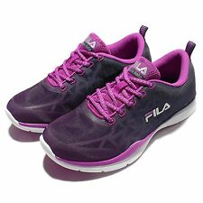 FILA J906Q Purple Navy Gradient Womens Running Shoes Sneakers 5-J906Q-991