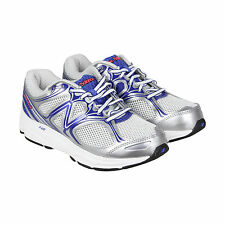 New Balance Running Course Womens White Blue Athletic Lace Up Running Shoes