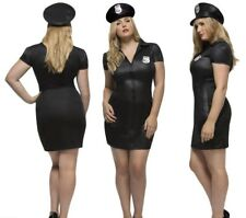 Fever Curves Cop Costume Ladies Sexy Police Woman Fancy Dress Outfit L-XXXL