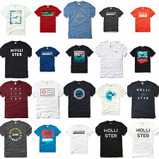 New Hollister By Abercrombie Mens Graphic Logo T Shirt Size S M L XL Nwt