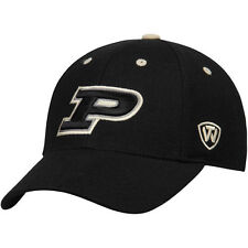 Top of the World Purdue Boilermakers Black Dynasty Memory Fit Fitted Hat