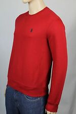 Polo Ralph Lauren Red Lightweight Sweatshirt Navy Blue Pony NWT