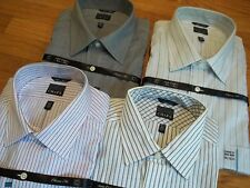 NWT, $65. MSRP, Mens Chaps 100% Cotton Non-Iron Classic Fit Dress Shirt