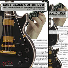 NEW MJS LEARN AND & MASTER BLUES GUITAR W/Mark John Sternal 6 DVD + 2 CD BOX SET