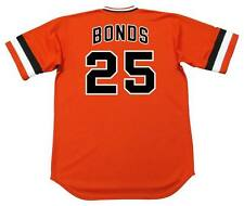 BARRY BONDS San Francisco Giants 1970's Majestic Cooperstown Baseball Jersey