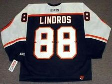 ERIC LINDROS Philadelphia Flyers 1998 CCM Throwback NHL Hockey Jersey