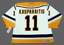 DARIUS KASPARAITIS Pittsburgh Penguins 1998 CCM Throwback Home NHL Hockey Jersey