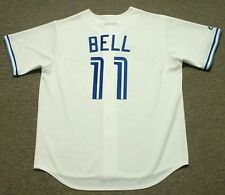 GEORGE BELL Toronto Blue Jays 1990 Majestic Cooperstown Home Baseball Jersey