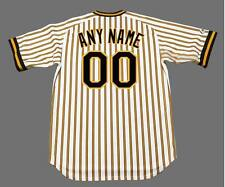 """PITTSBURGH PIRATES 1978 Majestic Cooperstown """"Customized"""" Home Baseball Jersey"""