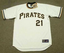 ROBERTO CLEMENTE Pittsburgh Pirates 1971 Majestic Cooperstown Baseball Jersey